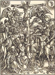 The Crucifixion, c.1497/98 by Durer | Painting Reproduction