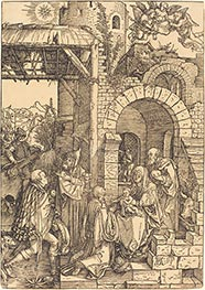 The Adoration of the Magi, c.1501/03 von Durer | Gemälde-Reproduktion