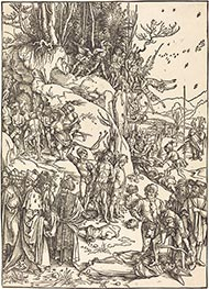 The Martyrdom of the Ten Thousand, c.1496/97 by Durer | Painting Reproduction