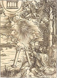Saint John Devouring the Book | Durer | Painting Reproduction