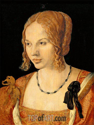 Portrait of a Young Venetian Woman, 1505 | Durer | Painting Reproduction