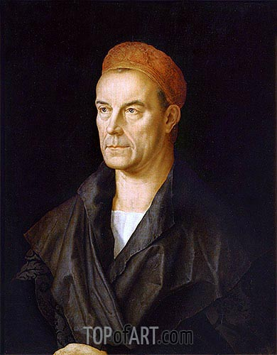 Jakob II Fugger 'The Rich', undated | Durer | Painting Reproduction