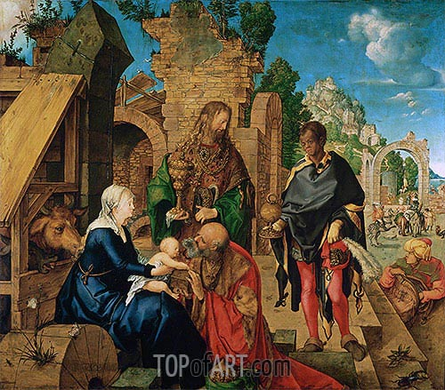 Adoration of the Magi, 1504 | Durer | Painting Reproduction
