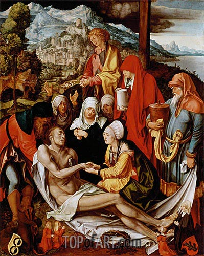 Lamentation for Christ, c.1500/03 | Durer | Gemälde Reproduktion