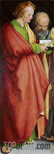 Saints Peter and John the Evangelist, 1526 | Durer | Painting Reproduction