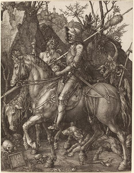 Knight, Death and Devil, 1513 | Durer | Painting Reproduction