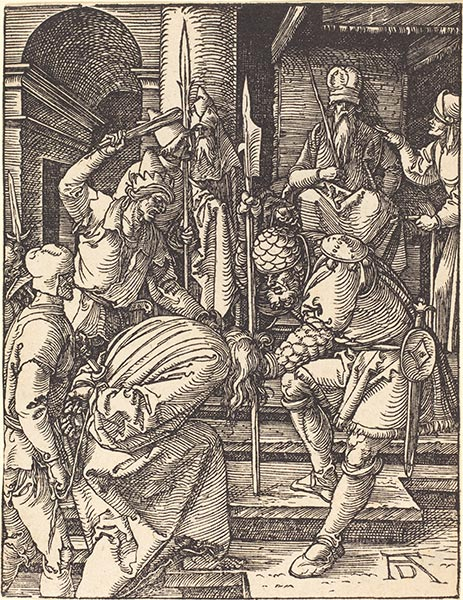 Christ before Annas, c.1509/10 | Durer | Painting Reproduction