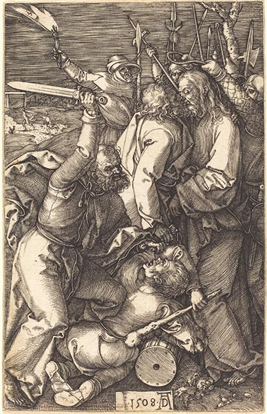 The Betrayal of Christ, 1508 | Durer | Painting Reproduction
