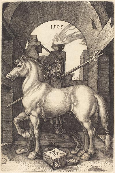 Small Horse, 1505 | Durer | Painting Reproduction