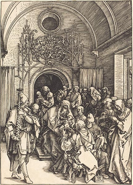 The Circumcision, c.1504/05 | Durer | Painting Reproduction