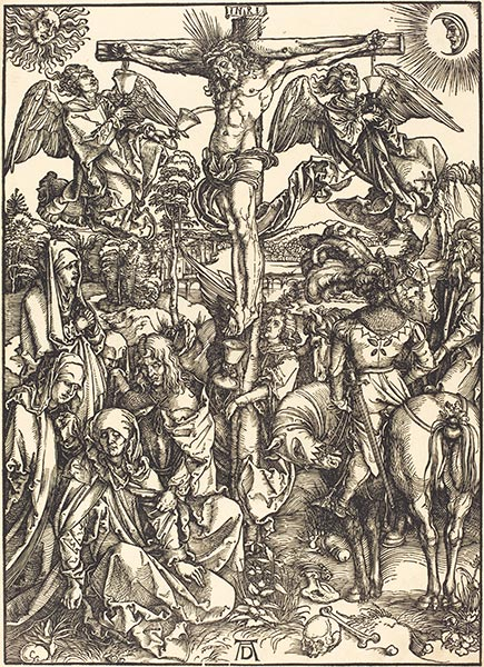 The Crucifixion, c.1497/98 | Durer | Painting Reproduction