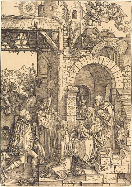 The Adoration of the Magi, c.1501/03 | Durer | Painting Reproduction