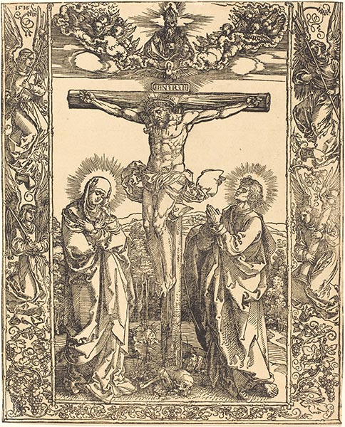 Christ on the Cross, 1516 | Durer | Painting Reproduction
