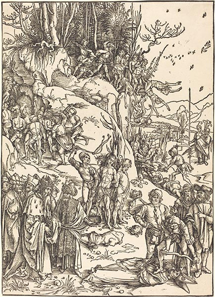 The Martyrdom of the Ten Thousand, c.1496/97 | Durer | Painting Reproduction