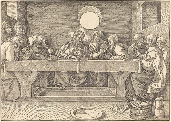 The Last Supper, 1523 | Durer | Painting Reproduction