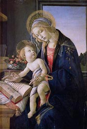 Madonna with the Book | Botticelli | Gemälde Reproduktion