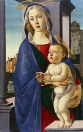 Virgin and Child | Botticelli | Gemälde Reproduktion