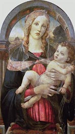 The Virgin and Child | Botticelli | Painting Reproduction