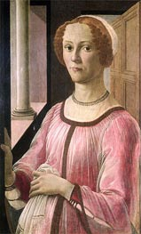 Portrait of Smeralda Bandinelli | Botticelli | Painting Reproduction