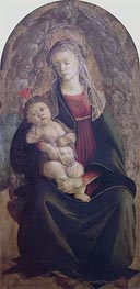 Madonna and Child in Glory | Botticelli | Gemälde Reproduktion
