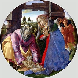 The Nativity | Botticelli | Gemälde Reproduktion