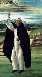 Saint Dominic, c.1498/05 by Botticelli | Painting Reproduction
