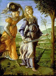 The Return of Judith, 1467 by Botticelli | Painting Reproduction