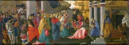 The Adoration of the Kings, c.1470 by Botticelli | Painting Reproduction
