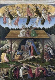 Mystic Nativity, 1500 by Botticelli | Painting Reproduction