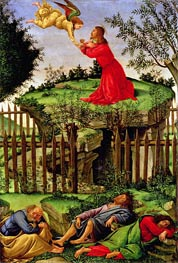 The Agony in the Garden, c.1500 von Botticelli | Gemälde-Reproduktion