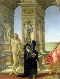 The Calumny of Apelles (Detail), c.1497/98 von Botticelli | Gemälde-Reproduktion
