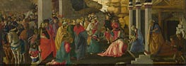 Adoration of the Kings | Botticelli | Painting Reproduction