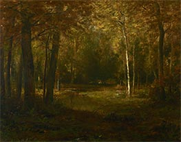 Glade in Autumn, undated by Alexander Wyant | Painting Reproduction