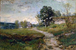 Arkville Landscape, 1889 by Alexander Wyant | Painting Reproduction