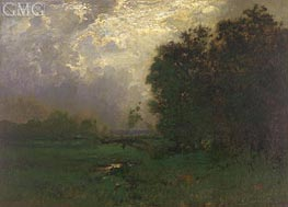 Landscape, c.1885 by Alexander Wyant | Painting Reproduction