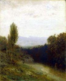 A View of Whiteface Mountain, c.1883 by Alexander Wyant | Painting Reproduction
