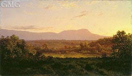 Peaceful Valley, c.1872 by Alexander Wyant | Painting Reproduction