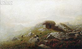 Misty Morning Near the Lakes of Killarney, undated von Alexander Wyant | Gemälde-Reproduktion