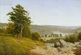 Landscape, 1865 by Alexander Wyant | Painting Reproduction
