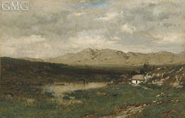 View in County Kerry, c.1875 by Alexander Wyant | Painting Reproduction