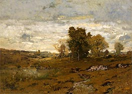 Autumn at Arkville, Undated by Alexander Wyant | Painting Reproduction
