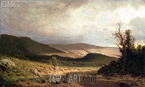 Sun in Kentucky, Undated   Alexander Wyant   Painting Reproduction