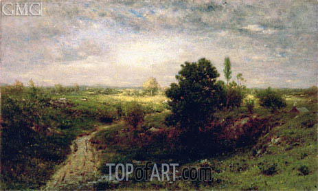 Keene Valley, c.1884/86 | Alexander Wyant | Painting Reproduction