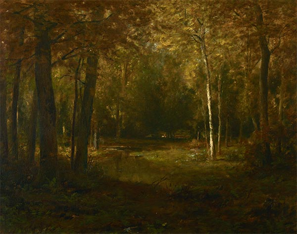 Glade in Autumn, undated | Alexander Wyant | Painting Reproduction