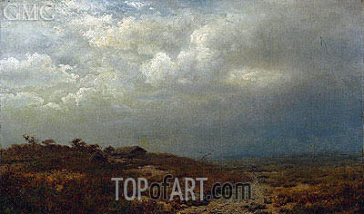 Irish Landscape, 1865 | Alexander Wyant | Painting Reproduction