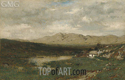 View in County Kerry, c.1875 | Alexander Wyant | Gemälde Reproduktion