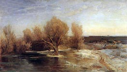 Spring, 1883 by Alexey Savrasov | Painting Reproduction