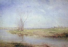 Spring, c.1870 by Alexey Savrasov | Painting Reproduction