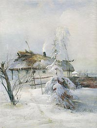 Winter, 1973 by Alexey Savrasov | Painting Reproduction