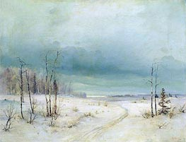 Winter, Undated by Alexey Savrasov | Painting Reproduction